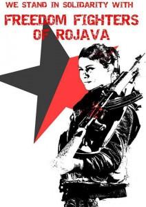 freedom fighters rojava