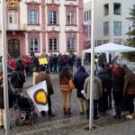 12. abschlusskundgebung am offenburger rathaus