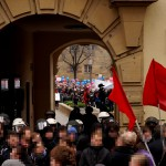 6. blockade seiteneingang schillerplatz